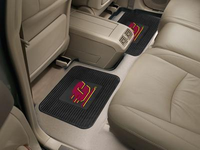 "NCAA - Central Michigan 2-pc Utility Car Mat 14""x17""-2 Utility Mats-JadeMoghul Inc."