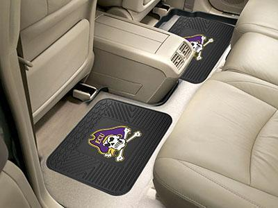 "NCAA - East Carolina 2-pc Utility Car Mat 14""x17""-2 Utility Mats-JadeMoghul Inc."