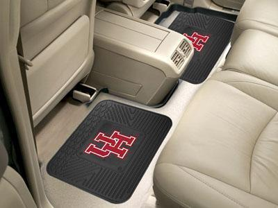 "NCAA - Houston 2-pc Utility Car Mat 14""x17""-2 Utility Mats-JadeMoghul Inc."