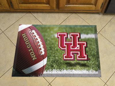 "NCAA - Houston Scraper Mat 19""x30"" - Ball-Scraper Mat-JadeMoghul Inc."