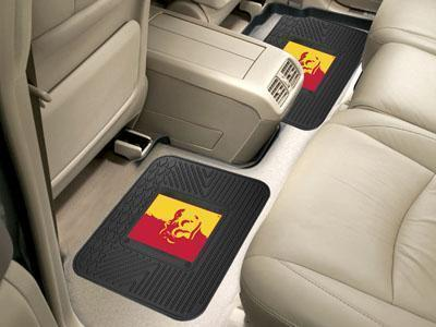 "NCAA - Pittsburg State 2-pc Utility Car Mat 14""x17""-2 Utility Mats-JadeMoghul Inc."