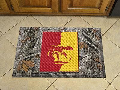 "NCAA - Pittsburg State University Scraper Mat 19""x30"" - Ball-Scraper Mat-JadeMoghul Inc."