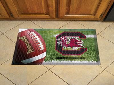 "NCAA - South Carolina Scraper Mat 19""x30"" - Ball-Scraper Mat-JadeMoghul Inc."