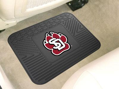 "NCAA - South Dakota Utility Car Mat 14""x17""-Utility Mat-JadeMoghul Inc."