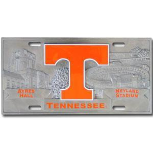 NCAA - Tennessee Volunteers Collector's License Plate-Automotive Accessories,License Plates,Collector's License Plates,College Collector's License Plates-JadeMoghul Inc.