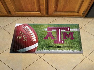 "NCAA - Texas A&M Scraper Mat 19""x30"" - Ball-Scraper Mat-JadeMoghul Inc."