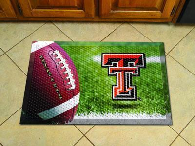 "NCAA - Texas Tech Scraper Mat 19""x30"" - Ball-Scraper Mat-JadeMoghul Inc."