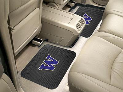 "NCAA - Washington 2-pc Utility Car Mat 14""x17""-2 Utility Mats-JadeMoghul Inc."