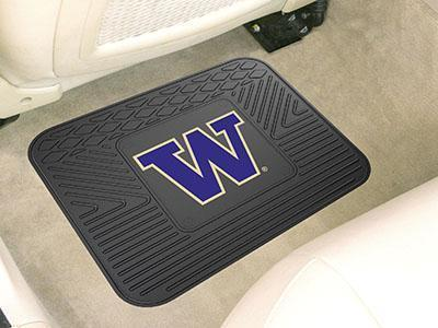 "NCAA - Washington Utility Car Mat 14""x17""-Utility Mat-JadeMoghul Inc."