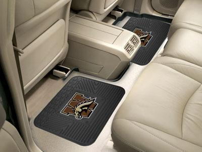 "NCAA - Western Michigan 2-pc Utility Car Mat 14""x17""-2 Utility Mats-JadeMoghul Inc."