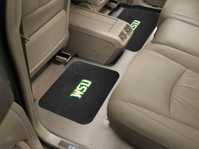 "NCAA - Wright State 2-pc Utility Car Mat 14""x17""-2 Utility Mats-JadeMoghul Inc."