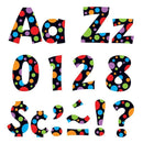 NEON DOTS READY LETTERS 4IN UPPER-Learning Materials-JadeMoghul Inc.
