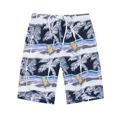New 2017 Shorts Men Summer Beach Shorts Flower Plaid Stripe Star Many styles Couple suit Wear Causal Tracksuit-sunshine men-L-JadeMoghul Inc.