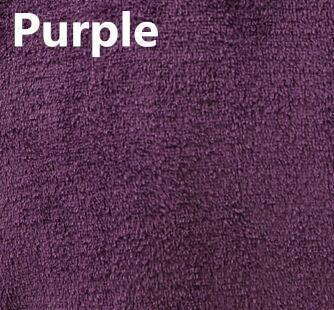 New Arrival Luxury Silk Flannel Winter Spa Bathrobe-Purple-S-JadeMoghul Inc.