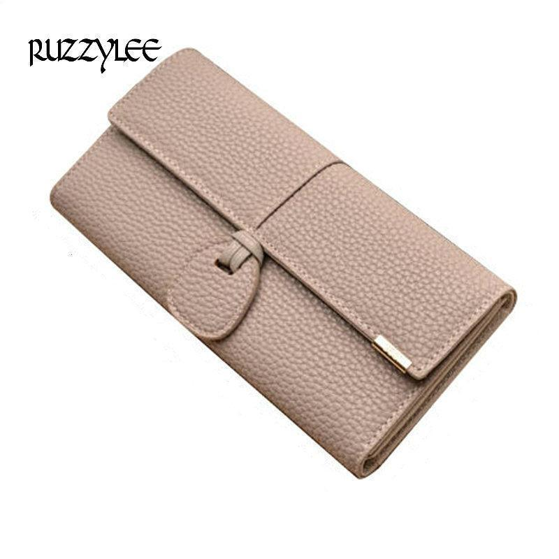 Merry Christmas Printed Leather Wallet Women Zip Purse Clutch Bag Travel Credit Card Holder Purse