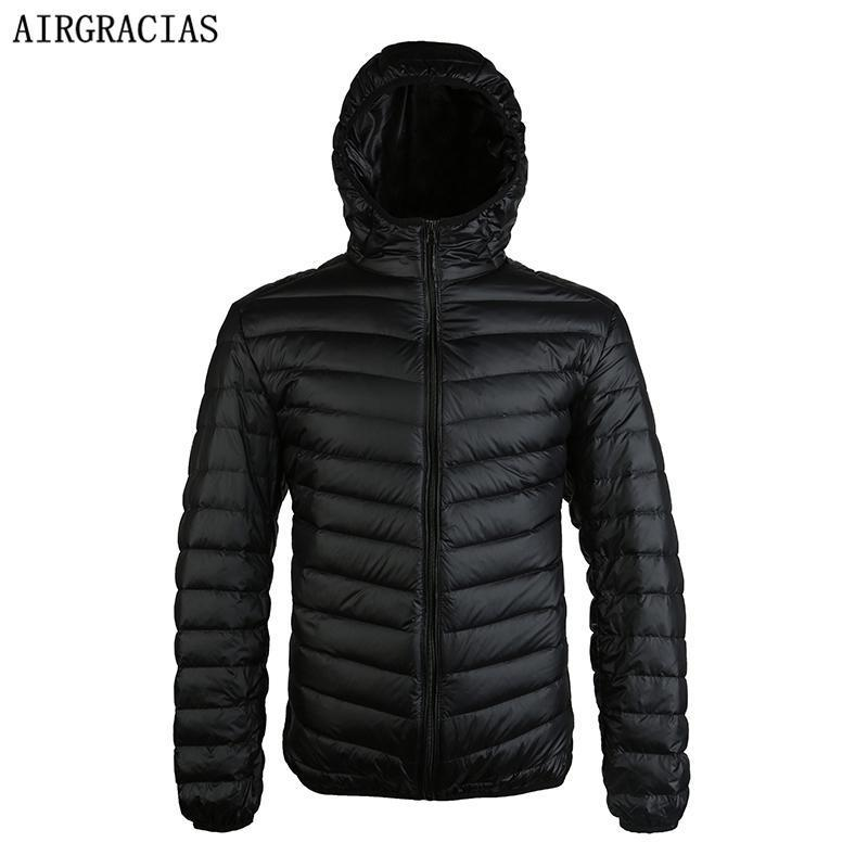 New Duck Down Jacket - Men Winter Warm Light Thin Jacket-Red-S-JadeMoghul Inc.