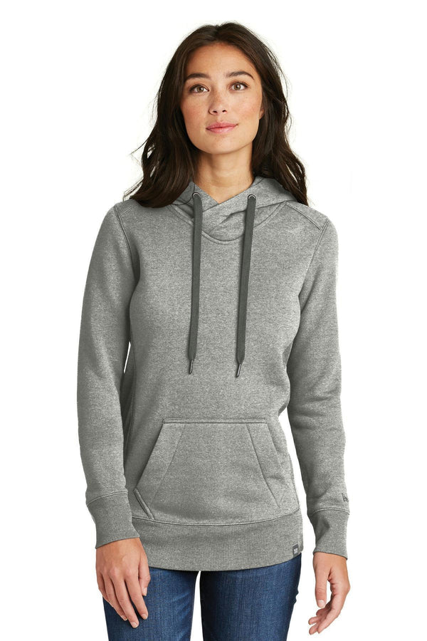 New Era Ladies French Terry Pullover Hoodie. LNEA500-Ladies-Light Graphite Twist-4XL-JadeMoghul Inc.