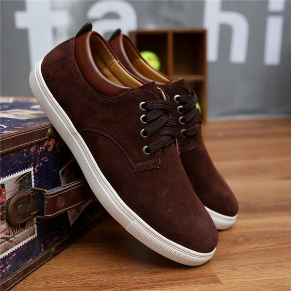 New Fashion Casual Breathable Shoes-Brown-6-JadeMoghul Inc.