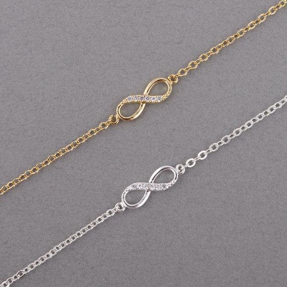 New Fashion Love Infinity Bracelet for Women-Gold-color-JadeMoghul Inc.