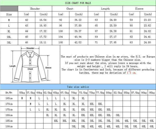 New Men Winter Jacket Casual Outwear AExp