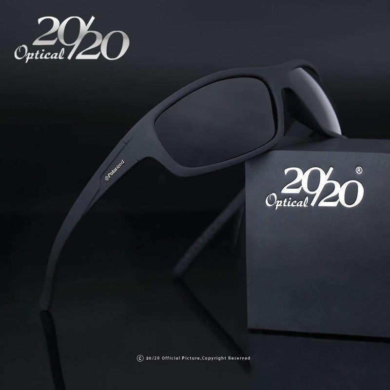 New Polarized Sunglasses / Men Fashion Eyewear / Sun Glasses-C04 Black Smoke-China-JadeMoghul Inc.