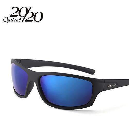 New Polarized Sunglasses / Men Fashion Eyewear / Sun Glasses-C07 Black Blue-China-JadeMoghul Inc.
