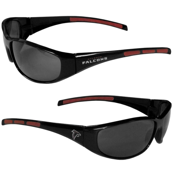 NFL - Atlanta Falcons Wrap Sunglasses-Sunglasses, Eyewear & Accessories,Sunglasses,Wrap Sunglasses,NFL Wrap Sunglasses-JadeMoghul Inc.