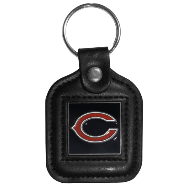 NFL - Leather Key Ring - Chicago Bears-Key Chains,Leatherette Key Chains,NFL Leatherette Key Chains-JadeMoghul Inc.