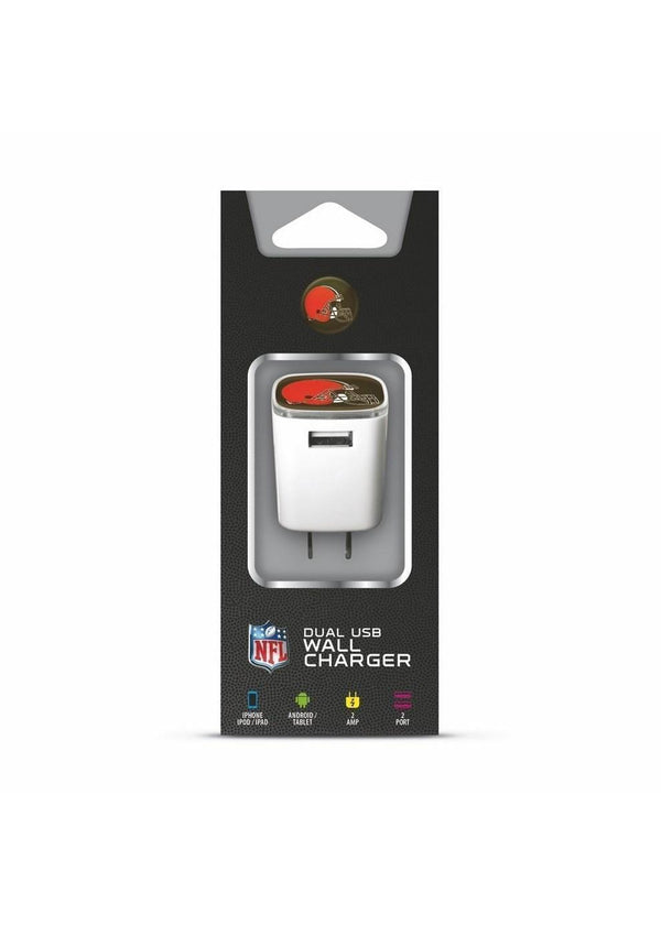 NFL - Mizco NFL Cleveland Browns Universal AC Big Logo Wall Charger-NFL-JadeMoghul Inc.