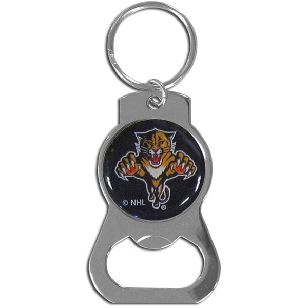 NHL - Florida Panthers Bottle Opener Key Chain-Key Chains,Bottle Opener Key Chains,NHL Bottle Opener Key Chains-JadeMoghul Inc.