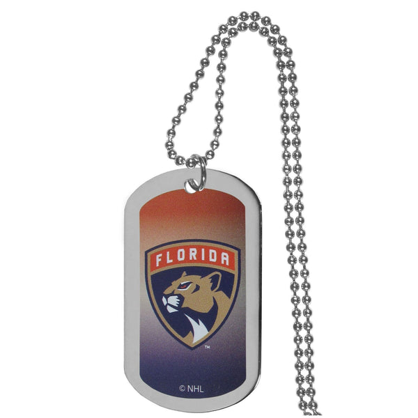 NHL - Florida Panthers Team Tag Necklace-Jewelry & Accessories,Necklaces,Team Tag Necklaces,NHL Team Tag Necklaces-JadeMoghul Inc.