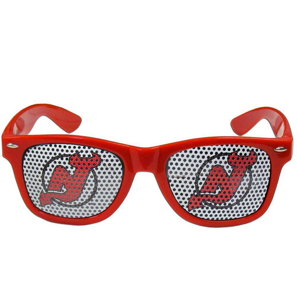 NHL - New Jersey Devils Game Day Shades-Sunglasses, Eyewear & Accessories,Sunglasses,Game Day Shades,Logo Game Day Shades,NHL Game Day Shades-JadeMoghul Inc.