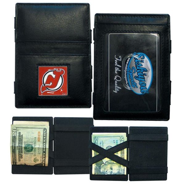 NHL - New Jersey Devils Leather Jacob's Ladder Wallet-Wallets & Checkbook Covers,Jacob's Ladder Wallets,NHL Jacob's Ladder Wallets-JadeMoghul Inc.