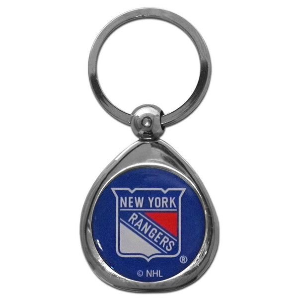 NHL - New York Rangers Chrome Key Chain-Key Chains,Chrome Key Chains,NHL Chrome Key Chains-JadeMoghul Inc.