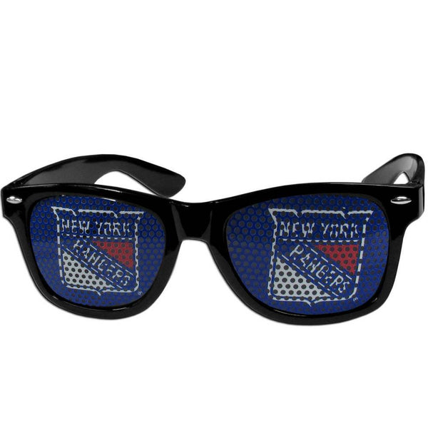 NHL - New York Rangers Game Day Shades-Sunglasses, Eyewear & Accessories,Sunglasses,Game Day Shades,Logo Game Day Shades,NHL Game Day Shades-JadeMoghul Inc.