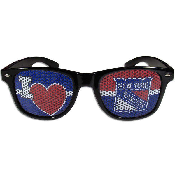 NHL - New York Rangers I Heart Game Day Shades-Sunglasses, Eyewear & Accessories,Sunglasses,Game Day Shades,I Heart Game Day Shades,NHL I Heart Game Day Shades-JadeMoghul Inc.