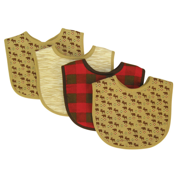 Northwoods 4 Pack Bib Set-NORTH-JadeMoghul Inc.