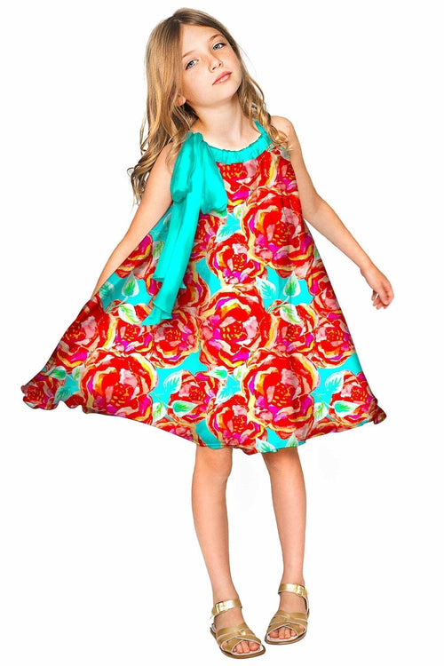 Oh So Sassy Melody Chiffon Halter Party Dress - Girls-Oh So Sassy-JadeMoghul Inc.