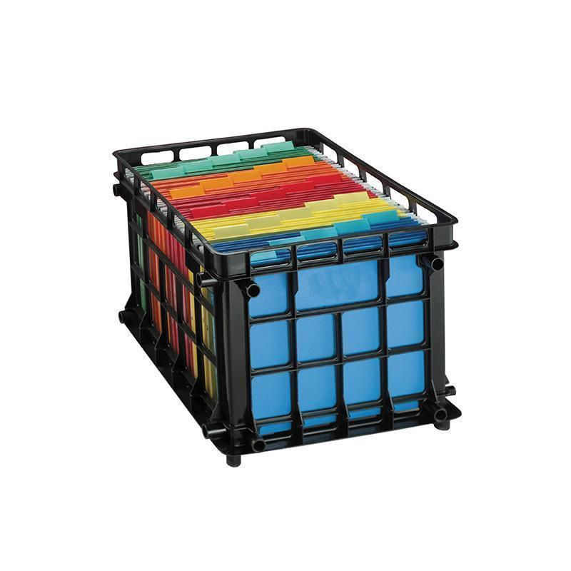 OXFORD FILING CRATE-Supplies-JadeMoghul Inc.
