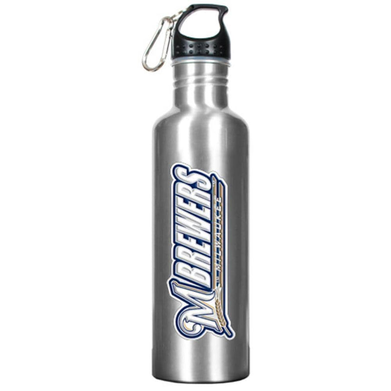 Party Goods/Housewares Stainless Steel Water Bottle - Milwaukee Brewers Great American Products