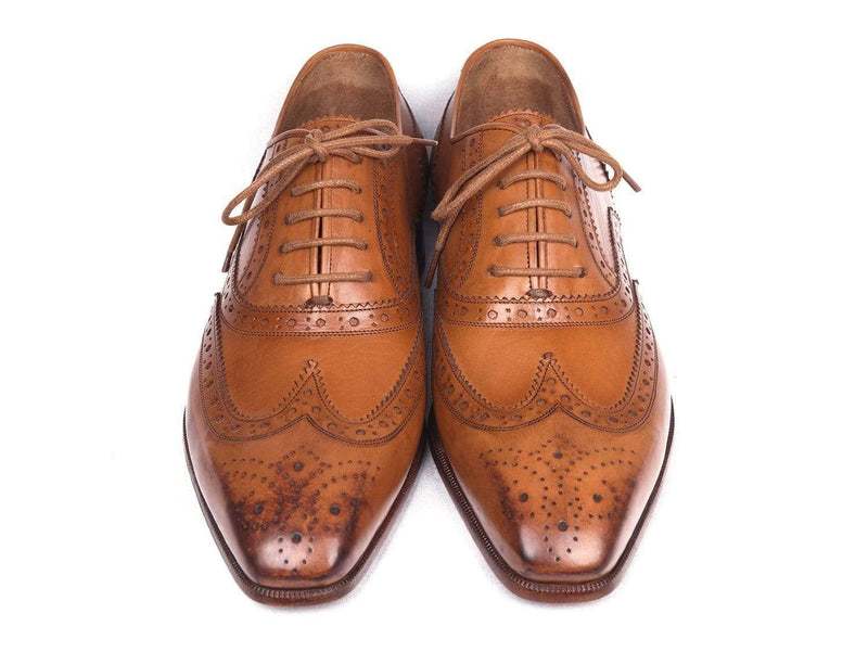 Paul Parkman (FREE Shipping) Wingtip Oxfords Cognac (ID