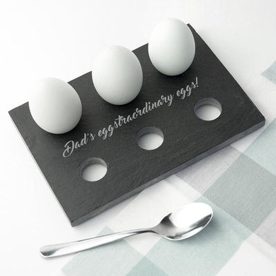 Personalised Slate Egg Holder-Slate Gifts & Accessories,Cool Gifts-JadeMoghul Inc.