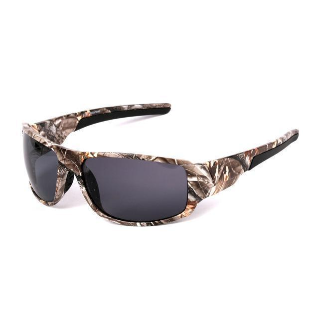Polarized Sunglasses Camouflage Frame Sport Sun Glasses-Camo l Gray-JadeMoghul Inc.