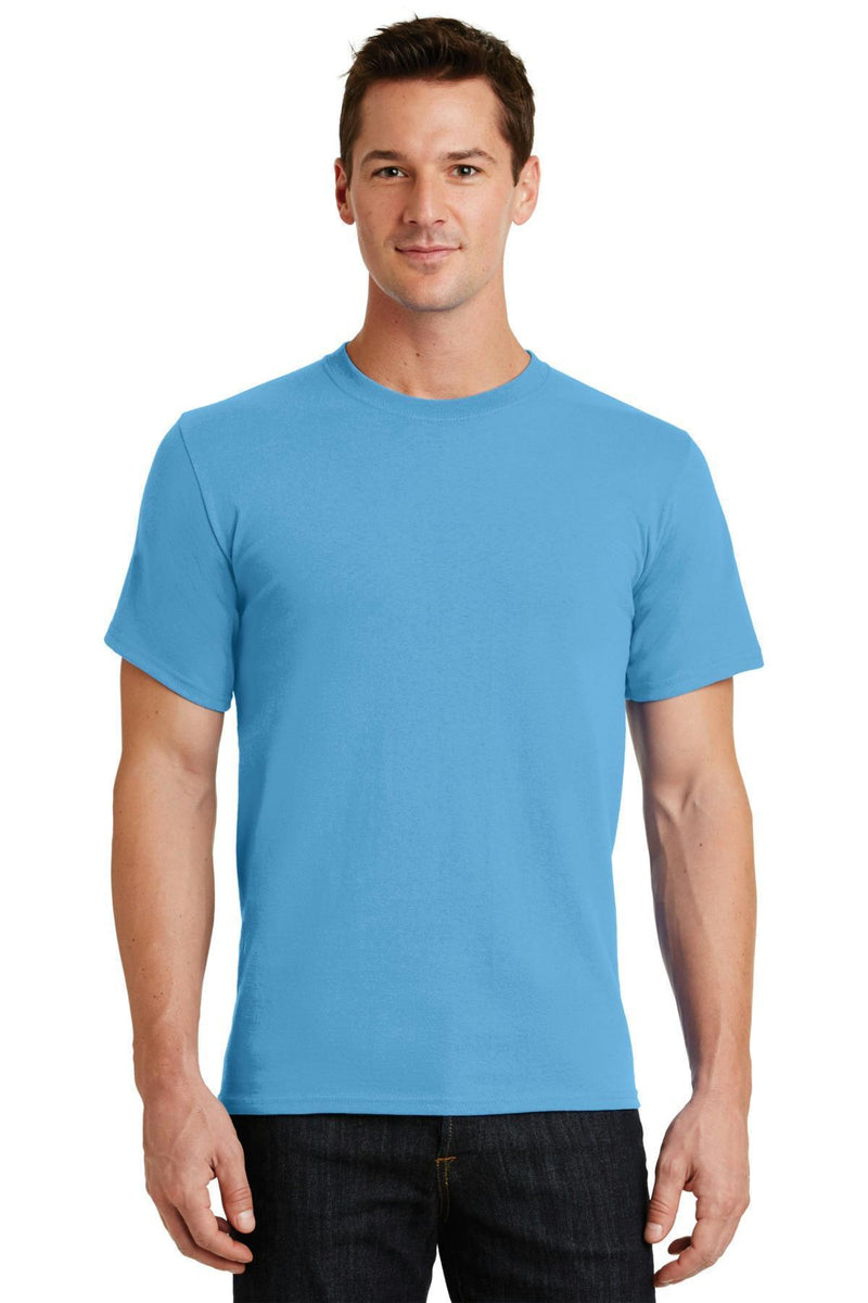 Port & Company - Essential Tee. PC61-T-shirts-Aquatic Blue-2XL-JadeMoghul Inc.