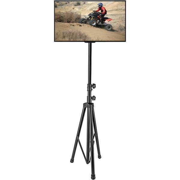 "Portable Tripod TV Stand (Up to 60"")-A/V Mounts & Organization-JadeMoghul Inc."