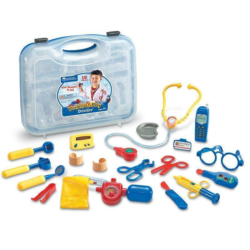 PRETEND & PLAY DOCTOR SET-Learning Materials-JadeMoghul Inc.
