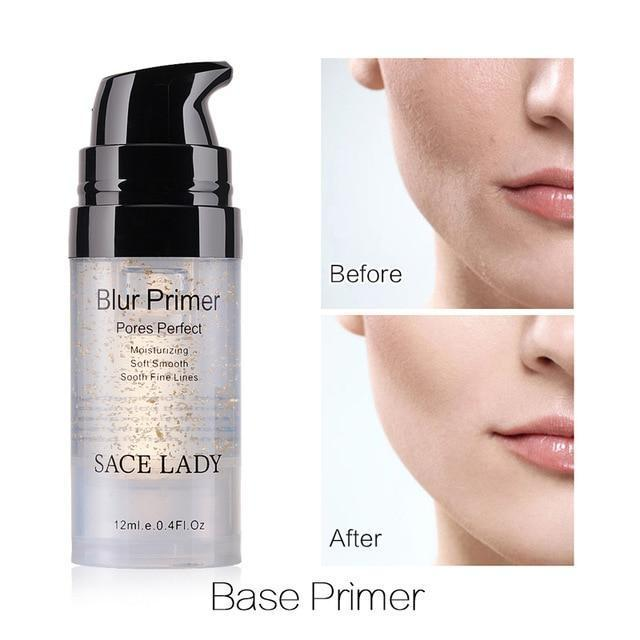 Professional Face Matte Finish Liquid Make Up Concealer Foundation-07 Blur Primer-JadeMoghul Inc.