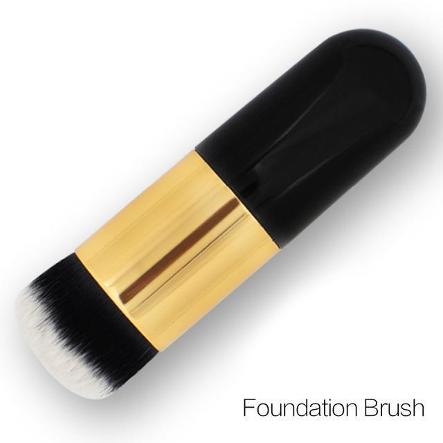 Professional Face Matte Finish Liquid Make Up Concealer Foundation-08 Foundation Brush-JadeMoghul Inc.