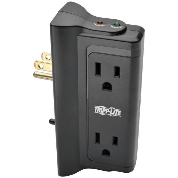 Protect It!(R) Surge Protector with 4 Side-Mounted Outlets-Surge Protectors-JadeMoghul Inc.