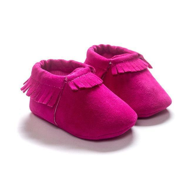 PU Suede Leather Newborn Baby Boy Girl Baby Moccasins Soft Moccs Shoes Bebe Fringe Soft Soled Non-slip Footwear Crib Shoes-C-3-JadeMoghul Inc.